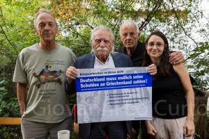 Besuch bei Manolis Glezos Foto: Giovanni Lo Curto